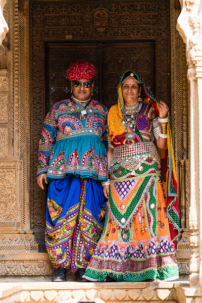 Dressing up for Photos, Jaisalmer, Rajasthan.