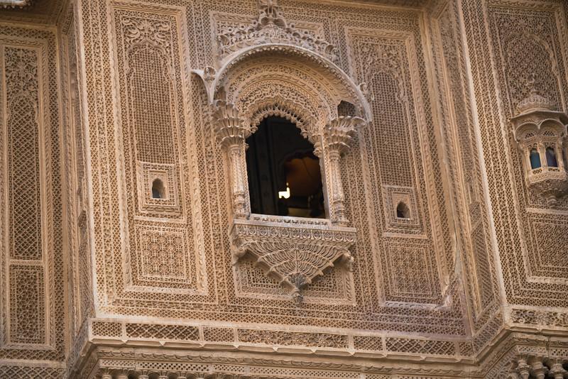Window of a Haveli, Jaisalmer, Rajasthan.