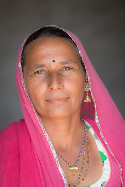 a woman Rohet, Rajasthan.