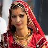 A bride, Bikaner, Rajasthan