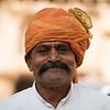 Attendant at Castle Mandawa, Rajasthan.