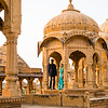 Bada Bagh Cenotaphs of the Maharajas, Jaisalmer, Rajasthan. Wedding Photos
