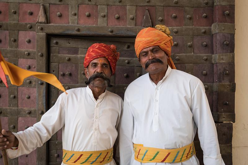 Rajputs, Mandawa, Rajasthan, India