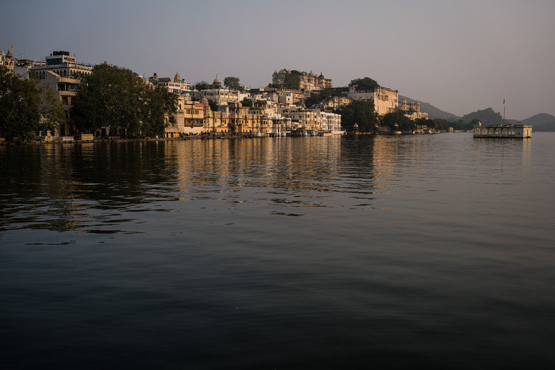 The City Palace and the lake, Udaipur, Rajasthan