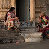 Tw women in a street, Udaipur
