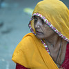 A Woman in the market in Udaipur