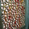 Tomb of Salim Chishti, Fatepur Sikri, 1580. Strings tied to window to make wishes.