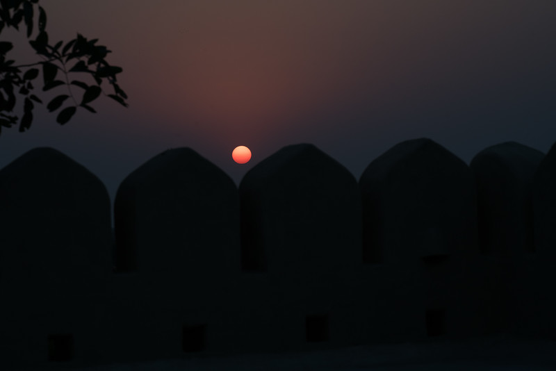 Sunset at Mihir Garh, Rohet, Rajasthan