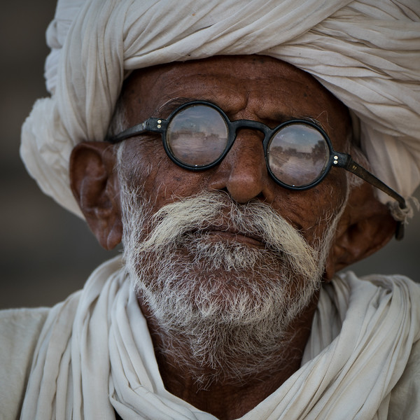 Old Man, Rohet, Rajasthan