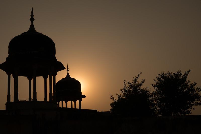 Cenotaph at Sunset, Mandawa, Rajasthan.