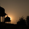 Cenotaph at Sunset, Mandawa, Rajasthan.