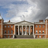 The East front with the 'transparent' portico at Osterley, Middlesex