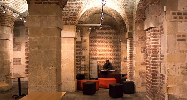 CAFE IN THE CRYPT, WC2N