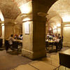 Cafe in the Crypt of St. Martin in the Fields church in Trafalgar Square.