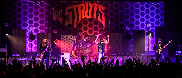 THE STRUTS performing July 3rd at The Observatory North Park San Diego, CA