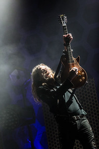 Guitarist Adam Slack THE STRUTS performing July 3rd at The Observatory North Park San Diego, CA