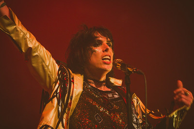 LUKE SPILLER Lead Vocalist THE STRUTS performing July 3rd at The Observatory North Park San Diego, CA