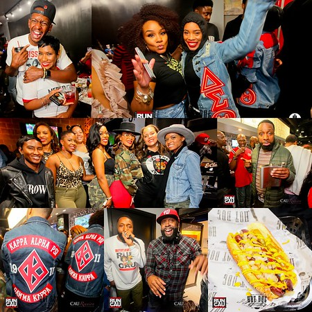 THE WATER PROOF TAILGATE CAU HOMECOMING @ THE HOTDOG FACTORY
