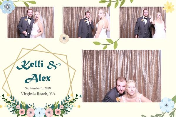 THE WEDDING OF KELLI & ALEX