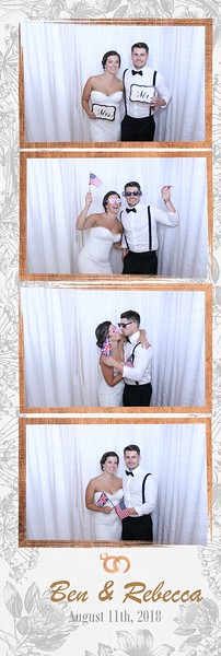 THE WEDDING OF REBECCA AND BEN