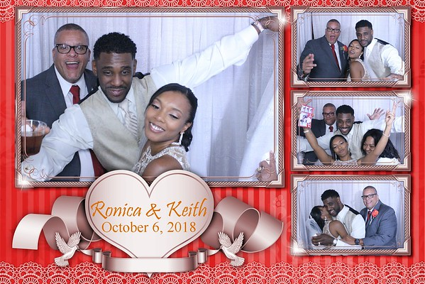THE WEDDING OF RONICA & KEITH