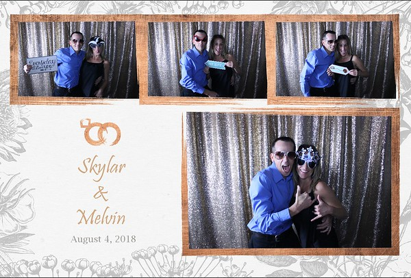 THE WEDDING OF SKYLAR AND MELVIN
