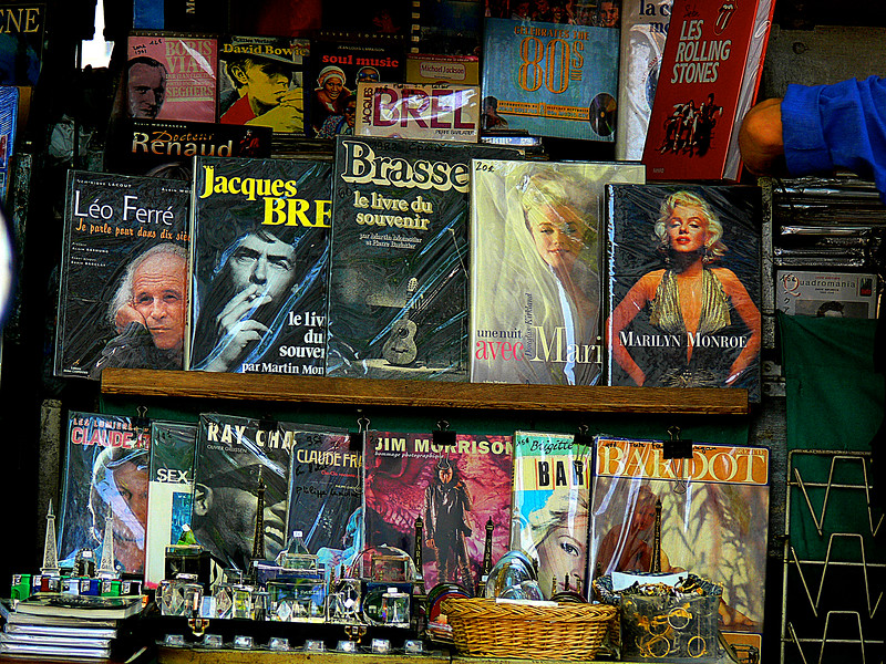 THE SEINE RIVER BOOK STALL