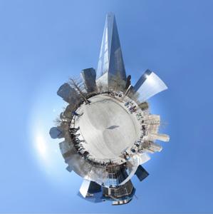 Tiny Planet-2 WTC