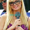 "ATLANTIC CITY- AUGUST 7, 2004, Paris Hilton took part in the First-Ever $50,000 Winner Take All Blackjack Event hosted by the Atlantic City Hilton Casino Hotel. Paris Hilton played a hand of Blackjack at each of six tables set up on the 2,000 square foot stage allowing all participants to play with the celebrated socialite and star of her tv show ""The Simple Life."""