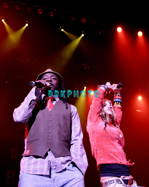 ATLANTIC CITY - JULY 4:  The Black Eyed Peas celebrated the holiday by bringing their Hip-Hop sounded from Live 8 to New Jersey when they performed at the brand new, Atlantic City,House Of Blues on July 4, 2005 in Atlantic City, New Jersey.