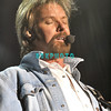 ATLANTIC CITY< NJ - Brooks and Dunn perform in concert in the Etess Arena at Trump Taj Mahal on February 19, 2005 in Atlantic City, NJ