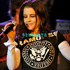 ATLANTIC CITY - MAY 14: Performing although she had a sore throat, Lisa Marie Presley had her fans on their feet in the Grand Cayman Ballroom at The Trump Marina, on May 14, 2005 in Atlantic City, New Jersey.