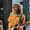 ATLANTIC CITY - AUGUST 21: Gutarist, John Frusciante of Red Hot Chilli Peppers performs in The Event Center at The Borgata Hotel, Casino and Spa, August 21, 2005 in Atlantic City, New Jersey. (