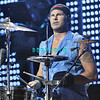 ATLANTIC CITY - AUGUST 21: Drummer, Chad Smith of Red Hot Chilli Peppers performs in The Event Center at The Borgata Hotel, Casino and Spa, August 21, 2005 in Atlantic City, New Jersey.