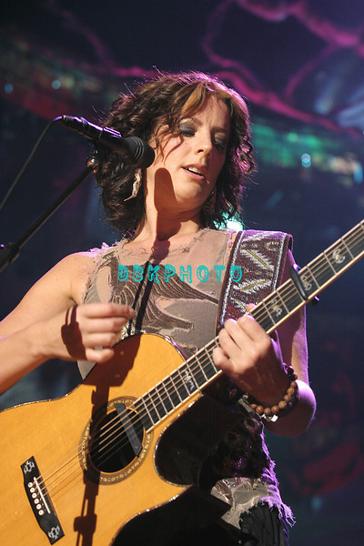 ATLANTIC CITY - MAY 28:  Sarah McLachlan provided a big Memorial Day weekend entertainment kick off when she performed her uniques sound to a filled Mark G. Etess Arena in The Trump Taj Mahal Casino Hotel Saturday evening, May 28, 2005 in Atlantic City, New Jersey.