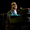 ATLANTIC CITY - AUGUST 12:  Motown icon Stevie Wonder brings his astounding talents to the Taj Mahal Arena In the Taj Mahal Casino Hotel as he performs his familiar songs, August 12, 2005 in Atlantic City, New Jersey.