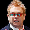 """ATLANTIC CITY -OCTOBER 7: Appearing before a """"Sold Out"""" audience, singer songwriter, Elton John performs at Boardwalk Hall on October 7, 2006 in Atlantic City, New Jersey"""