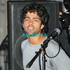 """ATLANTIC CITY, NJ - SEPTEMBER 3, 2007  Adrian Grenier plays drums with his band The Honey Brothers at the """"Entourage"""" party at The Pool at Harran's Atlantic City in the early morning hours of September 3, 2007 in Atlantic City, New Jersey."""