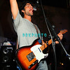 "ATLANTIC CITY, NJ - SEPTEMBER 3, 2007  Adrian Grenier plays guitar with his band The Honey Brothers at the ""Entourage"" party at The Pool at Harran's Atlantic City in the early morning hours of September 3, 2007 in Atlantic City, New Jersey. (Photo by Donald Kravitz/Getty Images)"