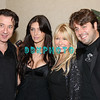 ATLANTIC CITY, NJ -NOVEMBER 3, 2007  Federico Castelluccio, Brittny Gastineau, Lisa Gastineau and Danny Divine pose for a photographalong with and some of Brittny's celebrity friends all celebrated her birthday at The Pool in Harrah's Casino Hotel on November 3, 2007 in Atlantic City, New Jersey.