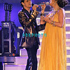 """ATLANTIC CITY, NJ Jennifer Lopez and Marc Anthony perform for a """"Sold Out"""" arena at the Trump Taj Mahal In Atlantic City, NJ on September 28, 2007."""