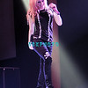 ATLANTIC CITY. Avril Lavigne performs in The Event Center at The Borgata Hotel Casino & spa on March 28, 2008.