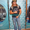 ATLANTIC CITY, NJ - JUNE 13:  Bret Michaels poses for photographers before entering The Pool at Harrah's on June 13, 2008 at Harrah's in Atlantic City, New Jersey.