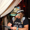 ATLANTIC CITY, NJ - JUNE 13:  Bret Michaels signs an album for a fan at The Pool at Harrah's on June 13, 2008 at Harrah's in Atlantic City, New Jersey.
