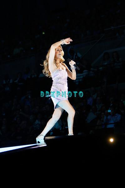 ATLANTIC CITY, NJ - SEPTEMBER 20:  Celine Dion performs in concert at Boardwalk Hall Arena on September 20, 2008 in Atlantic City, New Jersey.