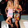 ATLANTIC CITY, NJ - AUGUST 30:  Bridget Marquart (L) and Kendra Wilkinson play for the camera as they visits The Pool at Harrah's on August 30, 2008 in Atlantic City, New Jersey.