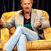 "ATLANTIC CITY, NJ - AUGUST 02:  Actor, singer, Kevin Costner takes time to engage in a ""Question & Answer"" session with his fans in the showroom at Caesars Atlantic City on August 2, 2008 in Atlantic City, New Jersey."