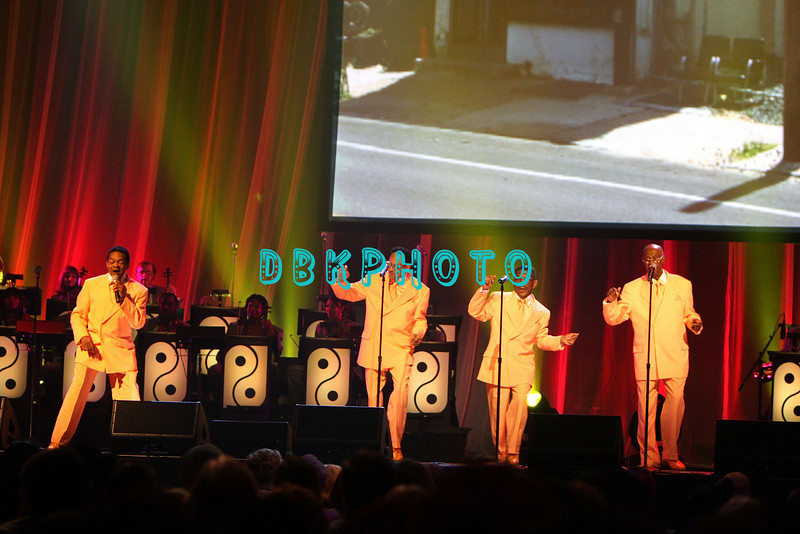 """ATLANTIC CITY - JUNE 07:  The Intruders performs at the """"Love Train: The Sound Of Philadelphia"""" concert on June 7, 2008 at the Borgata Hotel & Casino in Atlantic City, New Jersey."""