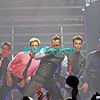 ATLANTIC CITY, NJ - SEPTEMBER 27:  Danny Wood, Joey McIntyre, Donnie Whalberg, Jordan Knight and Jonathan Knight  members of The New Kids On The Block performs at the Event Center at the Borgata on September 27, 2008 in Atlantic City, New Jersey.