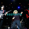 ATLANTIC CITY, NJ - AUGUST 22: Guirtarist  Joe Satriani (L) and lead singer Sammy Hagar of the band Chickenfoot performs at the House of Blues on August 22, 2009 in Atlantic City, New Jersey.
